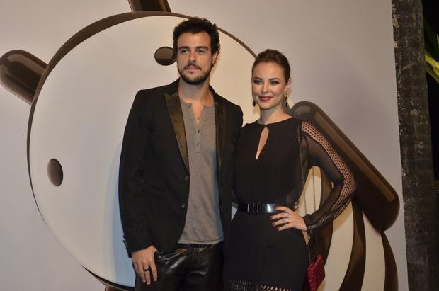 Joaquim Lopes e Paolla Oliveira (Foto: Roberto Teixeira / EGO)