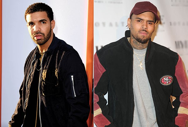Drake e Chris Brown (Foto: Getty Images)
