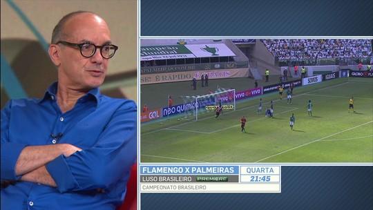 """Para Lédio, Borja é mal-avaliado """"por todo o universo do futebol brasileiro"""""""