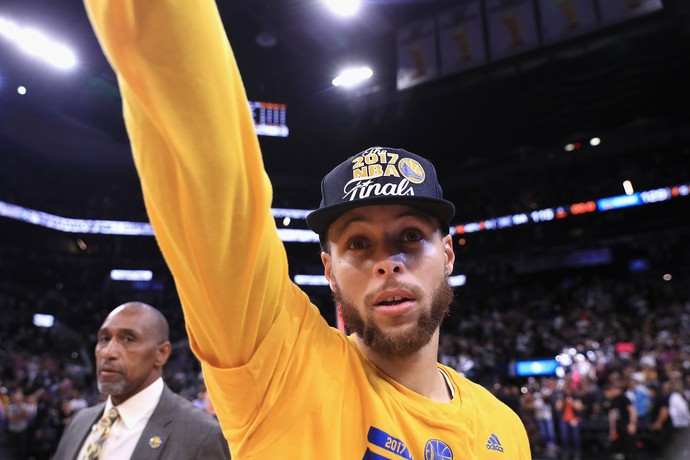 Stephen Curry - Golden State Warriors x San Antonio Spurs - Game 4 (Foto: Ronald Martinez/Getty Images)