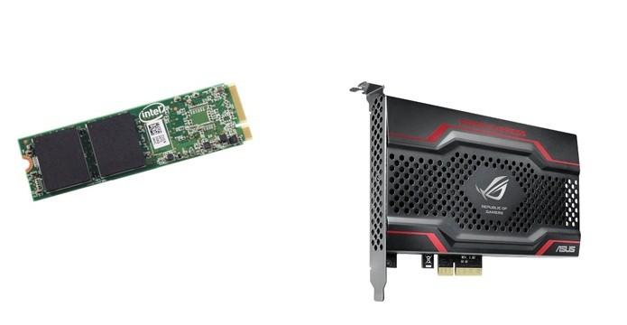 SSD no formato M.2 e PCIe (Foto: Montagem)