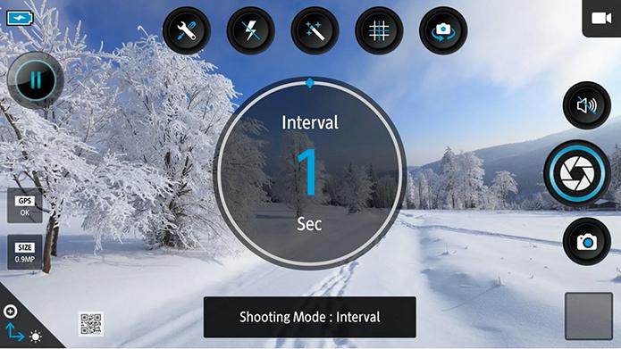 Adicione controles avançados à sua câmera (Foto: Reprodução/Google Play)