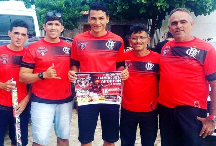 RN - Ronaldo Angelim vai participar do 1º Encontro de Flamenguistas em Apodi, no RN (Foto: Divulgação)