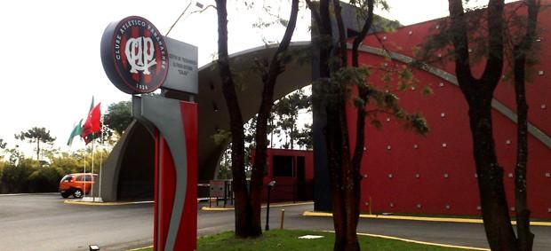 Entrada do CT do Caju (Foto: Divulgação/Atlético-PR)