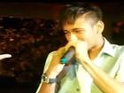 Vídeo! Neymar se empolga e canta na festa do casamento de Ganso