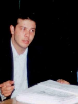 Alexandre Romano, quando era vereador em Americana, SP  (Foto: Câmara Municipal de Americana/Arquivo)