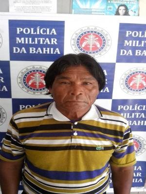Vítima de estupro é filha do suspeito e tem penas 14 anos (Foto: Divulgação / 8° Batalhão Polícia Militar)