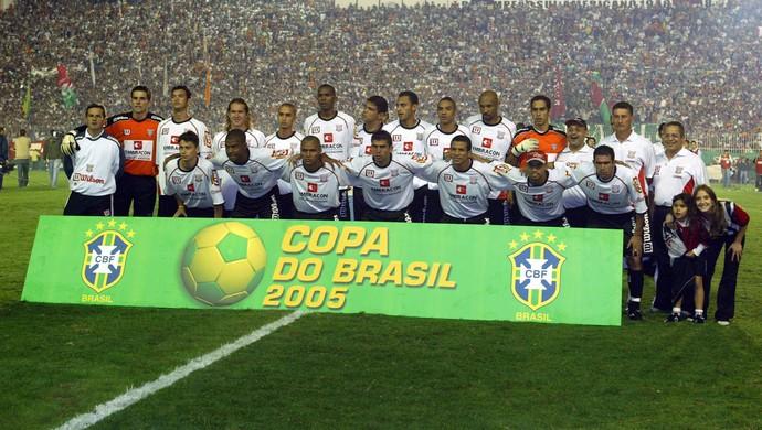 Fluminense x Paulista - Copa do Brasil 2005 São Januário (Foto: Agência O Globo)