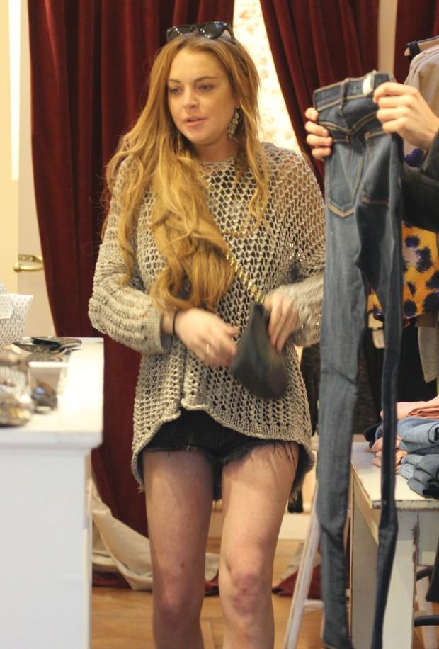Lindsay Lohan (Foto: Reprodução / Agência X17)