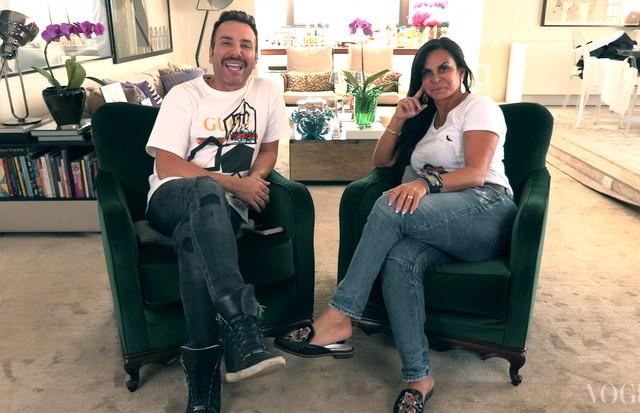 Matheus Mazzafera e Gretchen (Foto: reprodução)