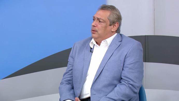 Guy Peixoto, presidente da Conderação Brasileira de Basquete (Foto: Reprodução SporTV)
