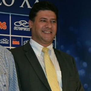 Aldo Rebelo visita CT do Cruzeiro (Foto: Divulgação / Site Oficial do Cruzeiro)