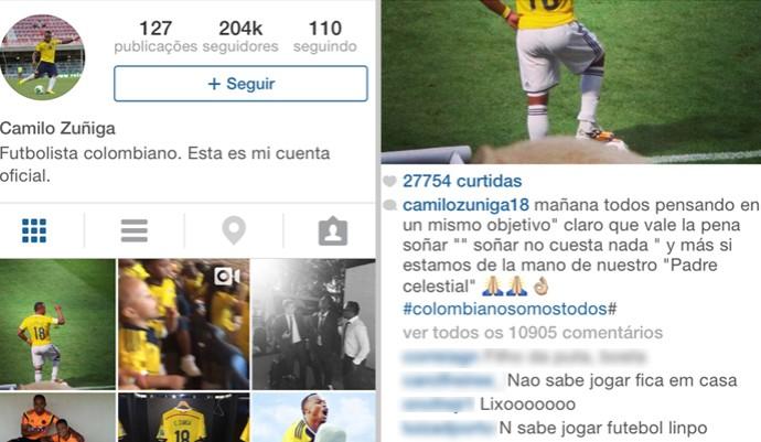 Instagram Zuniga  (Foto: Reprodução / Instagram)
