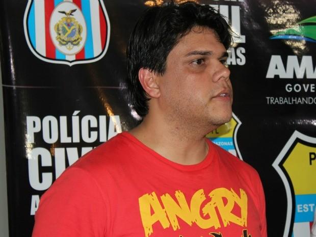 Jimmy Robert de Queiroz Brito é suspeito de ser mandante do crime (Foto: Mônica Dias/G1)