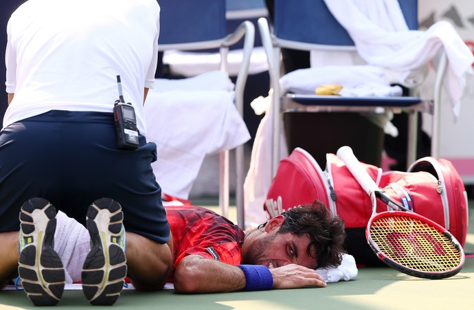 Thomaz Bellucci, costas, US Open (Foto: Getty Images)