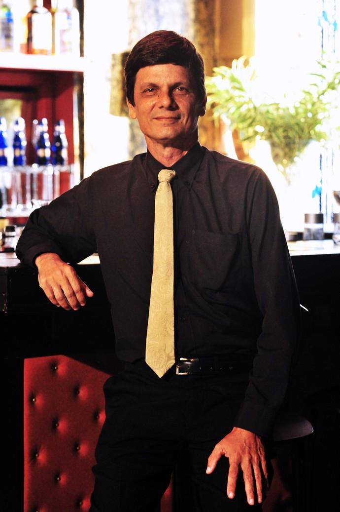 Duda Ribeiro como Adam, de 'Salve Jorge' (2013), seu último personagem em novelas  (Foto:  TV Globo/João Miguel Júnior)