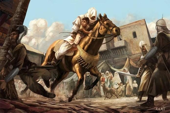 Arte conceitual de Prince of Persia: Assassins (Foto: Reprodução/GameRant)