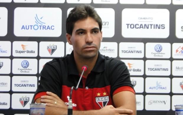 Marcos, lateral-direito do Atlético-GO (Foto: Kaiê Oliveira / Atlético-GO)