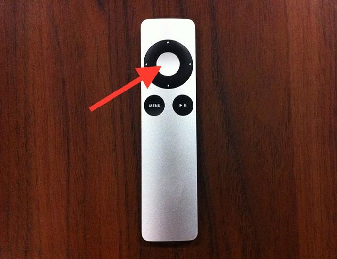 Marcando um conteúdo visualizado no iTunes da Apple TV (Foto: Reprodução/Marvin Costa)
