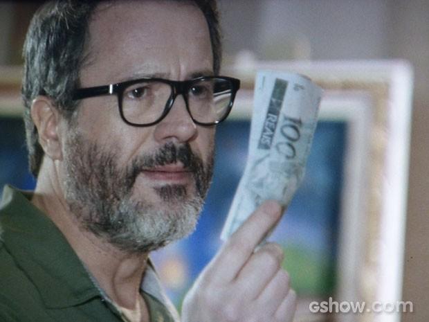 Fernando chega a oferecer dinheiro para Jairo sumir do mapa (Foto: Em Família/TV Globo)