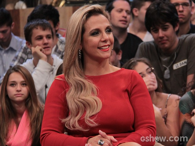 Carla Perez participa do programa Altas Horas deste sábado (Foto: TV Globo/Altas Horas)