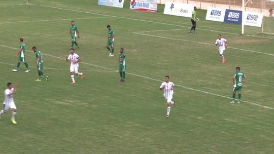 Em jogo de duas viradas e sete gols, Sobradinho vence o Formosa fora