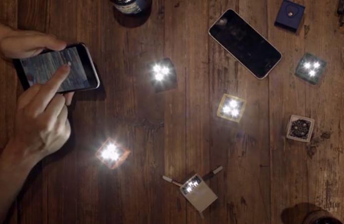 Lume Cube é flash portátil controlado via smartphone (Foto: Divulgação)