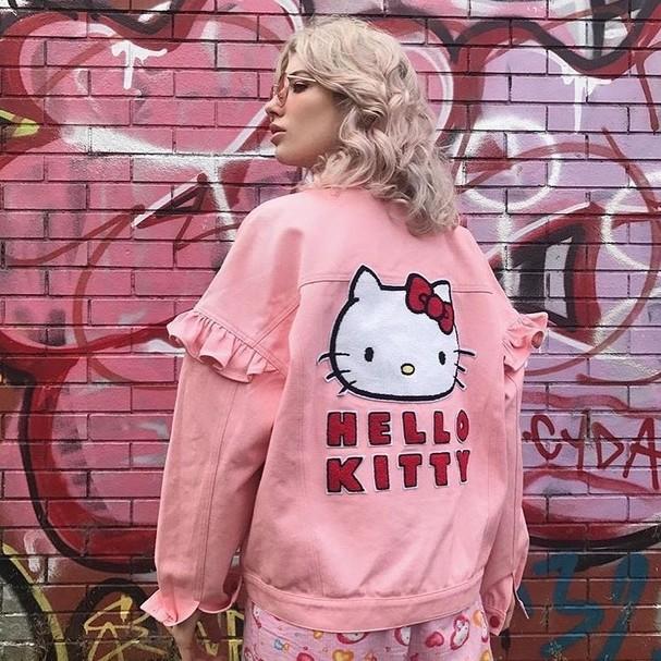 Lazy Oaf X Hello Kitty (Foto: Reprodução Instagram)