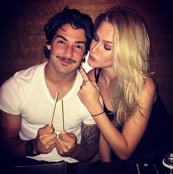 Fiorella Mattheis e Alexandre Pato (Foto: Reprodução/Instagram)