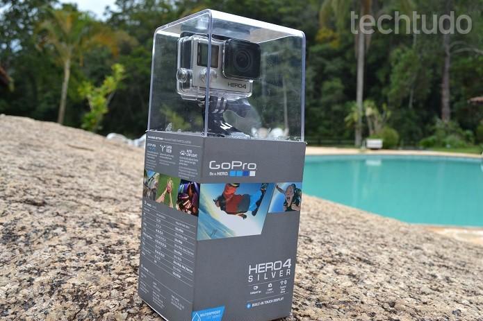 Linha GoPro Hero 4 conta com novidades  (Foto: Reprodução/Victor Teixeira)