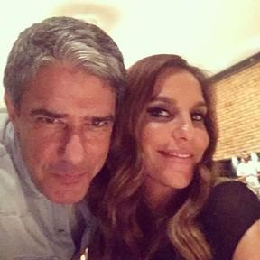William Bonner e Ivete Sangalo (Foto: Instagram/ Reprodução)