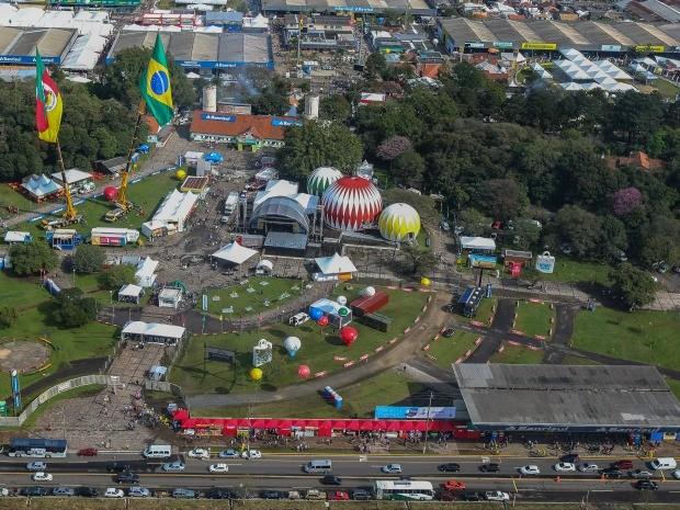 Expointer ocorre no Parque Assis Brasil em Esteio (RS) (Foto: Claudio Fachel/Palácio Piratini)