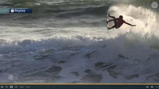 "Após resultados de Peniche, final no Havaí vira ""Brazilian Storm"" x Fanning"
