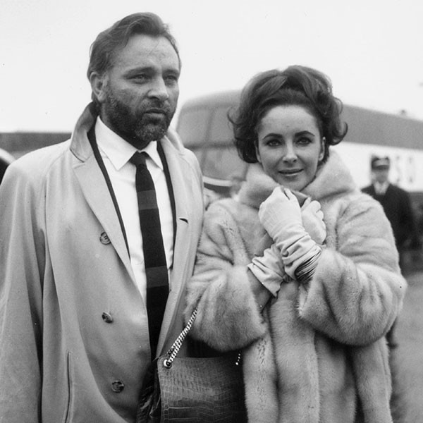 Richard Burton e Elizabeth Taylor (Foto: Getty Images)