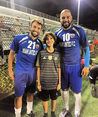 Adriano Bernardo Miami United (Foto: Divulgação)
