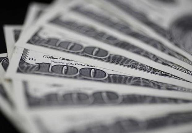 Dólar ; dólares ; câmbio ; moeda norte-americana ; PIB dos EUA ;  (Foto: Dreamstime)