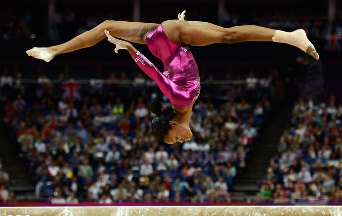 Gabrielle Douglas londres 2012 olimpiadas (Foto: Reuters)