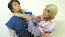 Peça sobre Rapunzel tem cinco apresentações  (Marcelo Rocha/Divulgação)