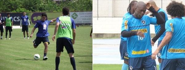 Jogadores se preparam para o jogo de domingo (Foto: Divulgação / EC Bahia/ Thales Soares / Globoesporte.com)