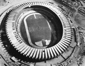 Estádo Minas Gerais, no dia da inauguração, para a partida entre Seleção Mineira e River Plate (Foto: Reprodução / SIte Oficial da Minas Arena)