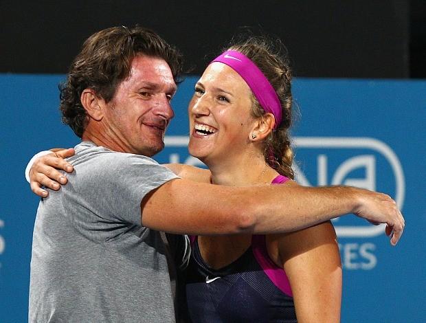 Sam Sumyk técnico Azarenka tênis (Foto: Getty Images)