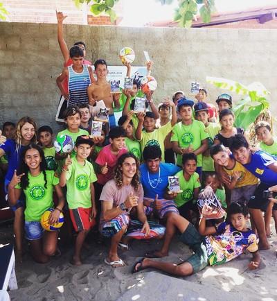 Projeto Vivo, kitesurfe, piauí (Foto: Arquivo Pessoal)