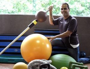 Cláudio Baiano treinador Big Brother BBB Eu Atleta (Foto: Bebel Clark )