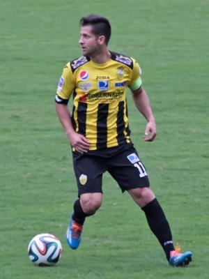 Cesar González; Coritiba (Foto: Site oficial do Deportivo Táchira/Divulgação)