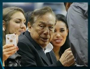 Donald Sterling, dono do Los Angeles Clippers (Foto: Reprodução SporTV)