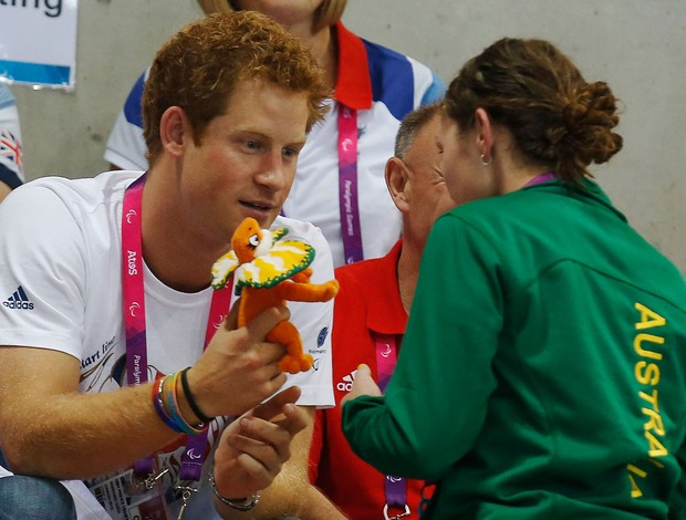principes harry  inglaterra londres 2012 olimpiadas (Foto: Reuters)