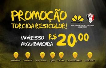 Criciúma faz promoção para jogo com JEC e lança lote de ingressos a R$ 20