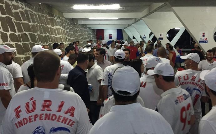Torcida eleição Paraná (Foto: Thiago Ribeiro)