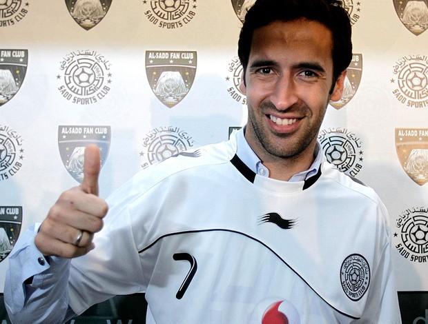 RAul gonzalez Al Sadd assinatura de contrato (Foto: Agência Reuters)