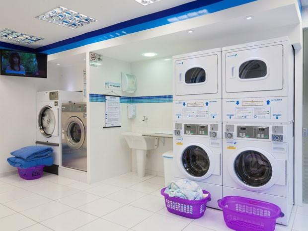 Mesmo sem número total, associação afirma que cresceu o número lavanderias de autoatendimento nos últimos cinco anos (Foto: Ivan Paneque/Divulgação)